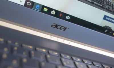 Test Ultrabook Acer Swift 5