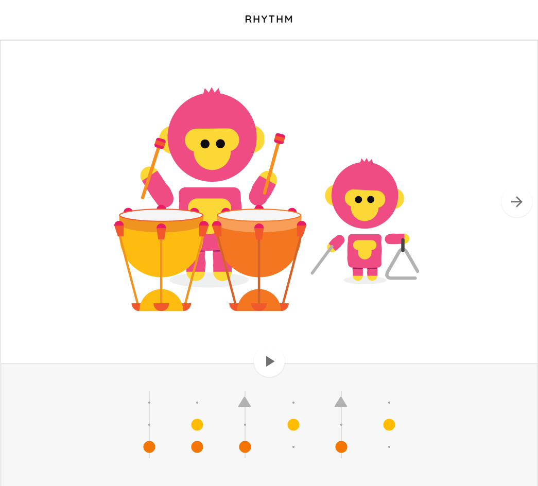 Chrome Music Lab - Rythm section