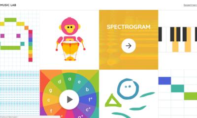 Chrome Music Lab - Website