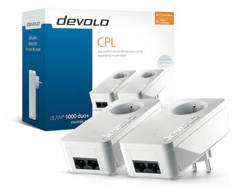 CPL dLAN 1000 duo+ Devolo