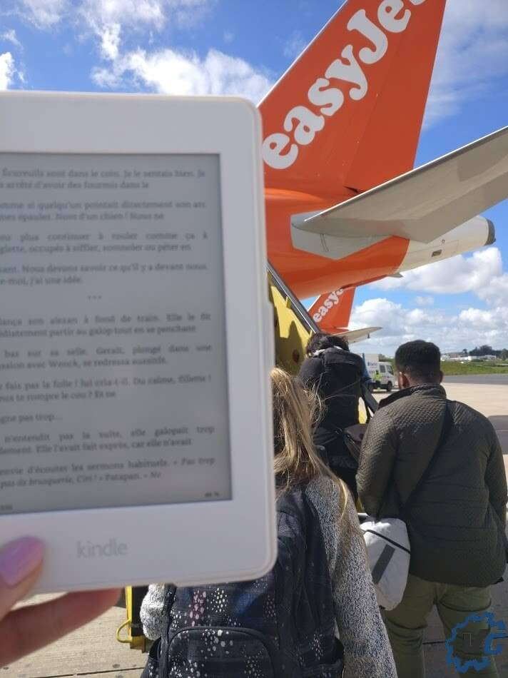Amazon Kindle Paperwhite Lisbonne Easy Jet