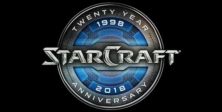 20e anniversaire StarCraft