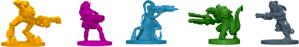 Adrénaline figurines