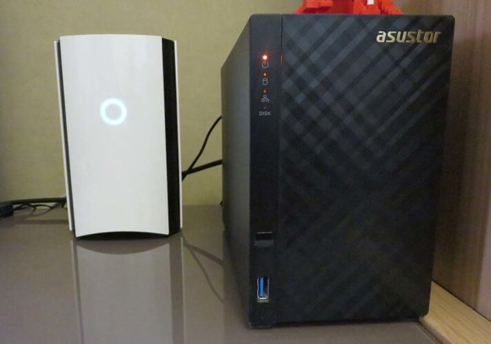 Bitdefender Box V2 + NAS
