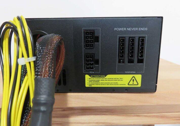 FSP Hyper M85+ 650W connecteurs