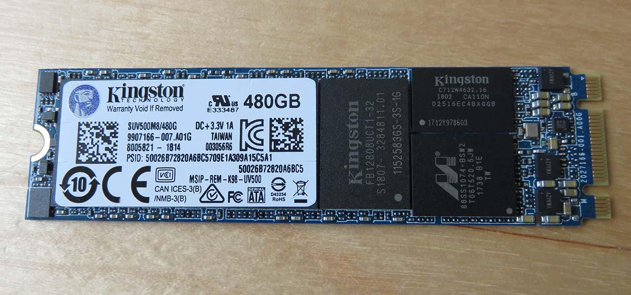 Test – SSD Kingston UV500 M 2 480 Go