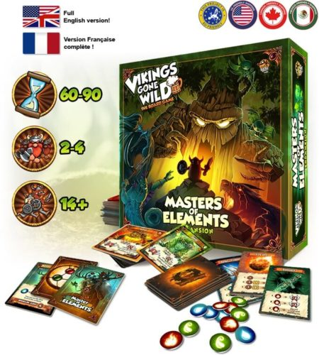 Masters of Elements contenu