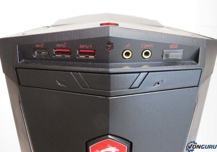 MSI Aegis Ti3 8-02SXEUTi3 front panel