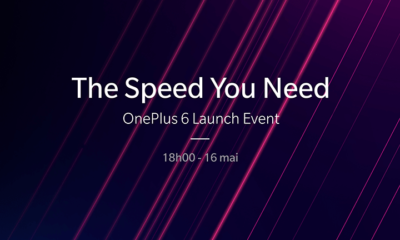 Lancement OnePlus 6