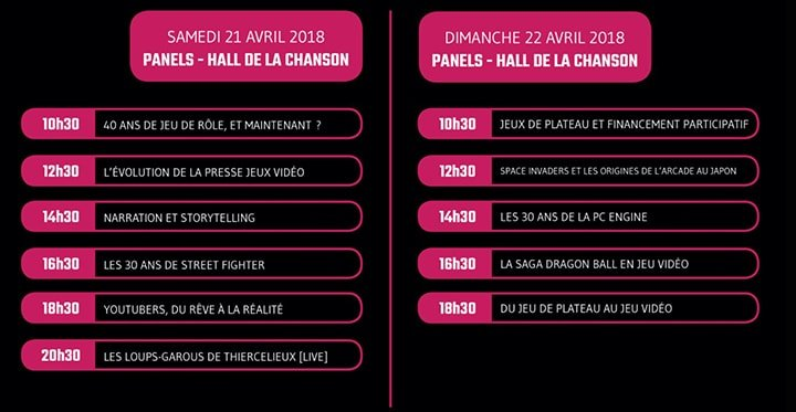 Programme Play Paris Powered by Pax
