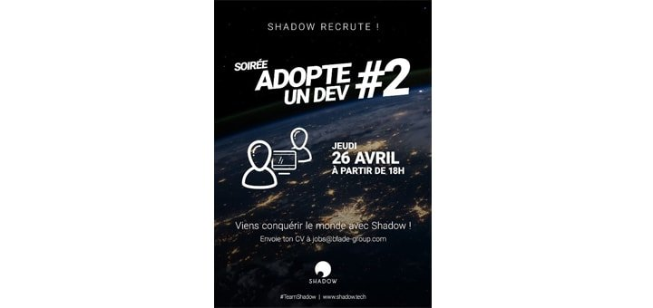 Blade recrute pour Shadow
