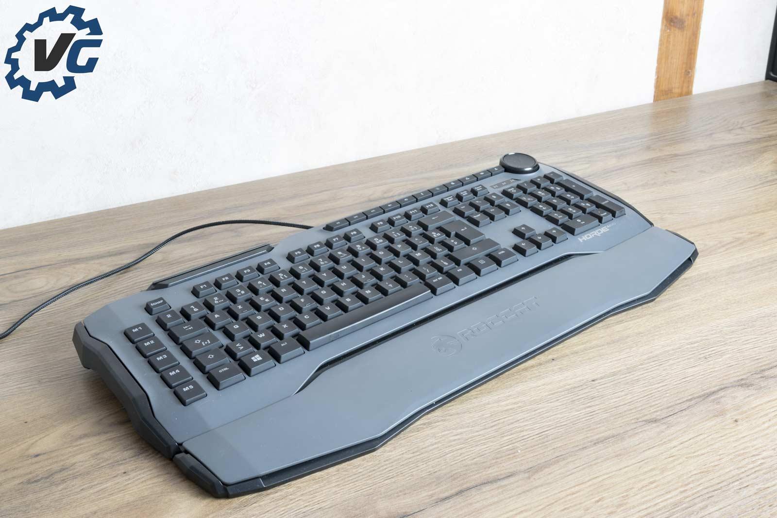 Test clavier ROCCAT Horde AIMO