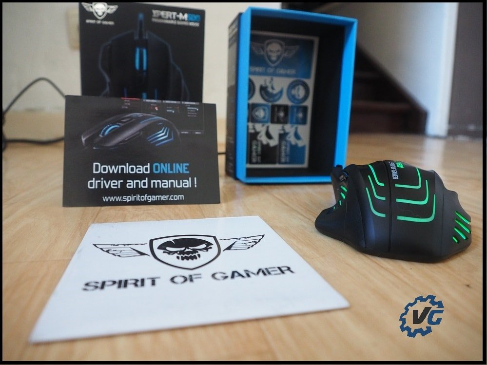Souris Spirit of Gamer Xpert-M500 présentation
