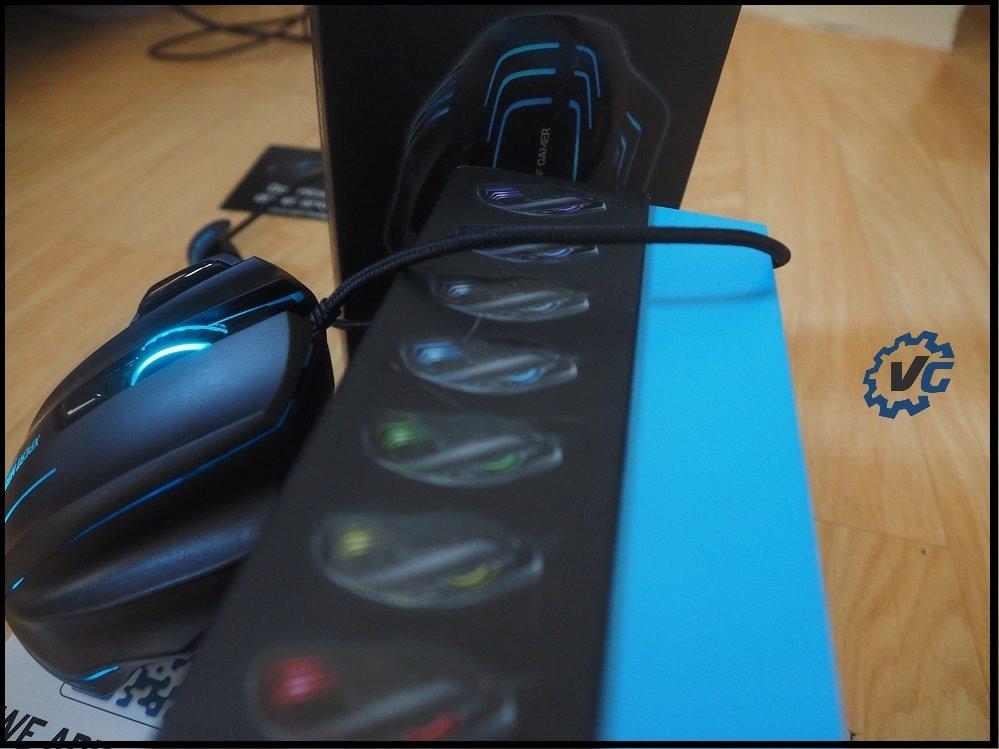 Souris Spirit of Gamer Xpert-M500 câblage nylon
