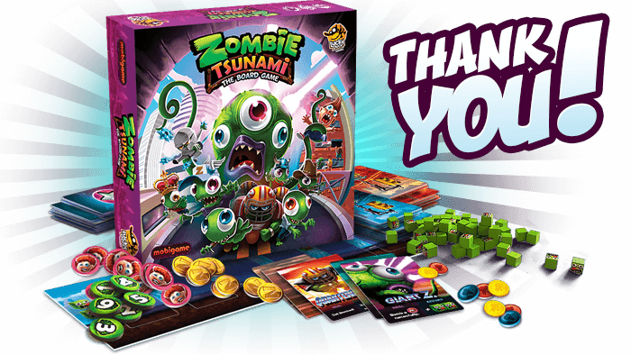 Zombie Tsunami box
