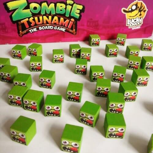 Zombie Tsunami Cubes
