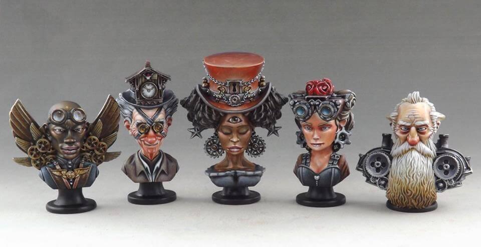 Imaginarium Figurines peintes