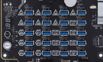 Asus H370 Mining Master - USB Matrix