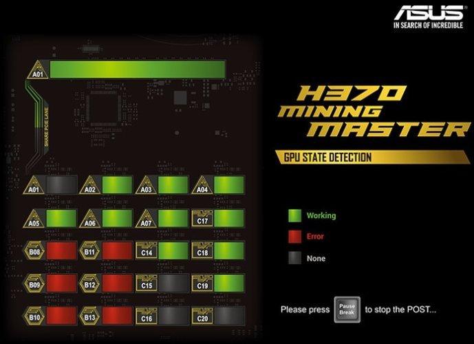 Carte mère Asus H370 Mining Master