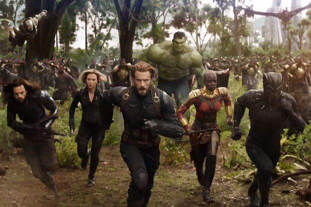 Avengers: Infinity War bataille Wakanda
