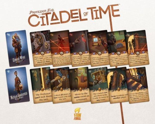 Citadelle du Temps decks