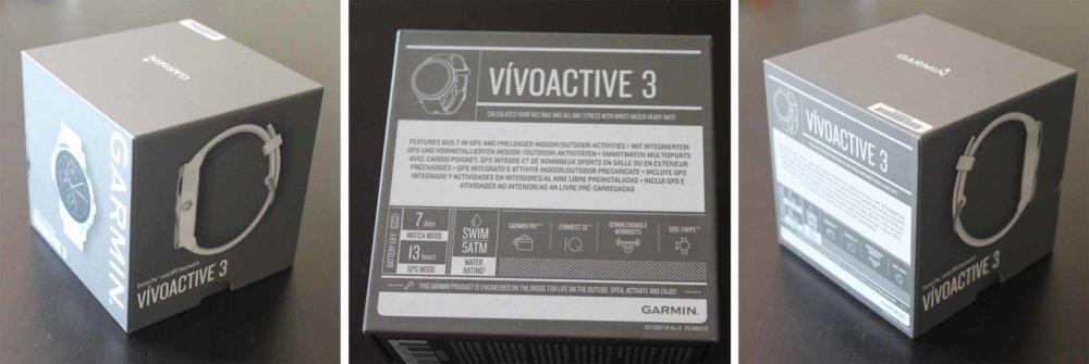 garmin vivoactive unboxing
