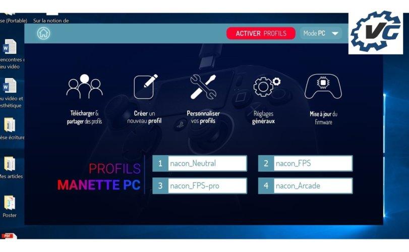 Logiciel Pro Revolution Controller 2