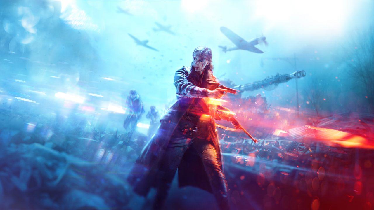Image officielle de Battlefield V