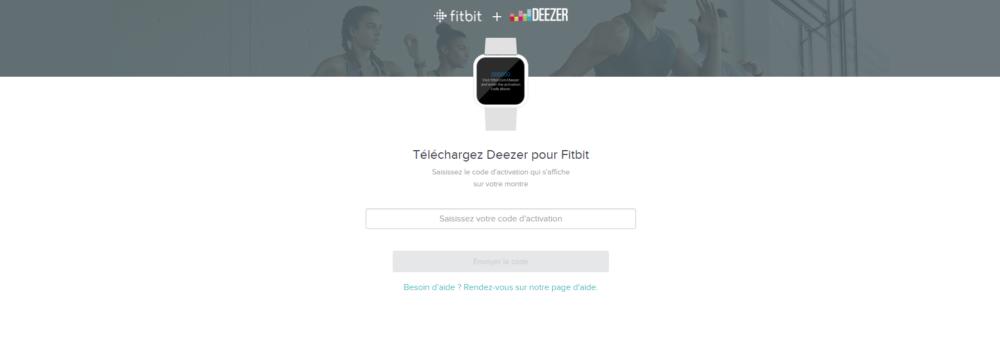 Fitbit Deezer