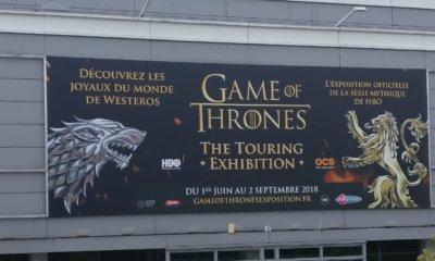 Expo Game of Thrones Paris