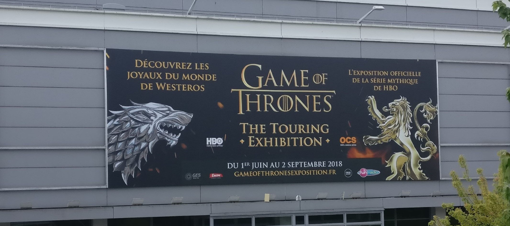 Expo Game of Thrones Paris