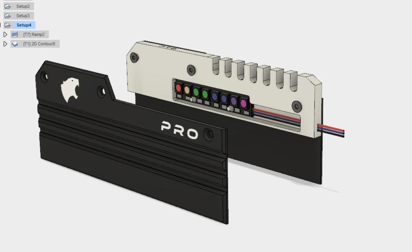 Dissipateur Thermique DDR4 HCM Memory Pro