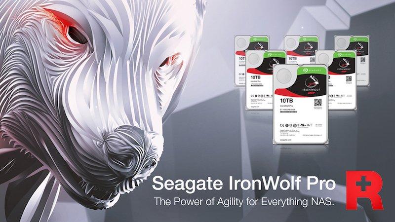 gamme seagate ironwolf pro