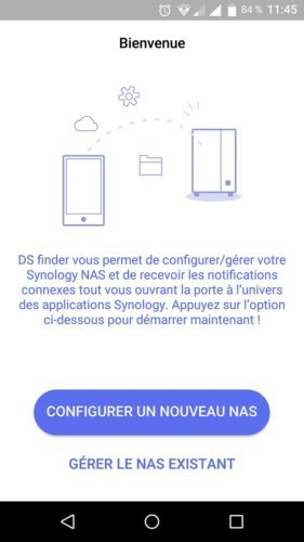 synology ds218+ ds finder