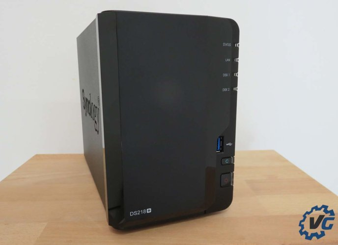synology ds218+ face