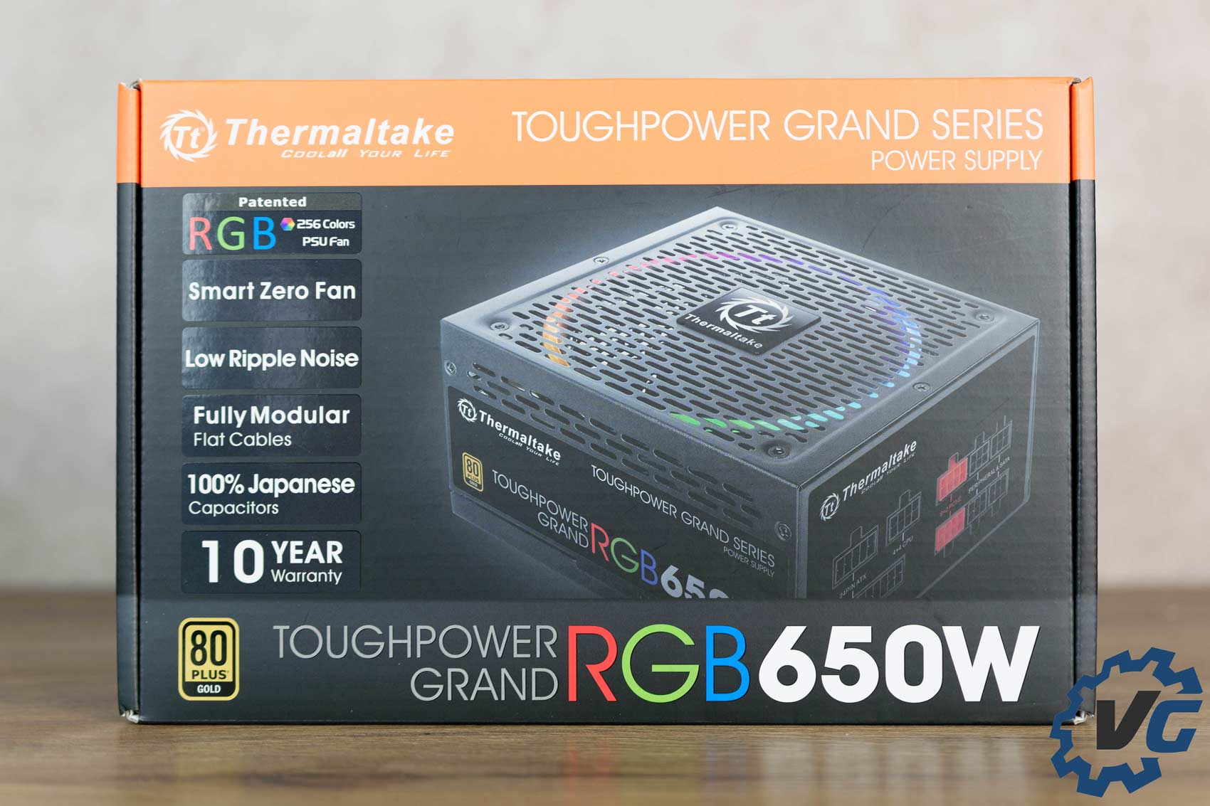 Test alimentation Thermaltake Toughpower Grand RGB 650W