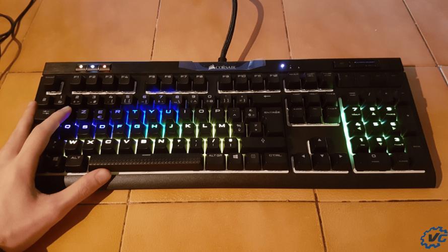 RGB clavier corsair MK.2