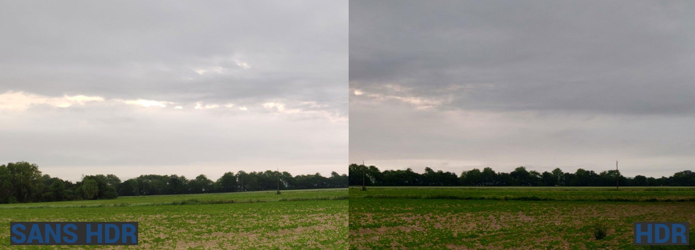 Photos Sans HDR/Avec HDR