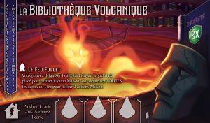 Ex Libris bibliothèque volcanique