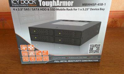 boîte ICY DOCK MB994SP-4SB-1