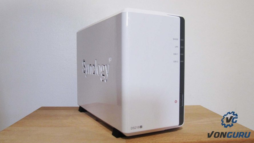 synology ds218j face