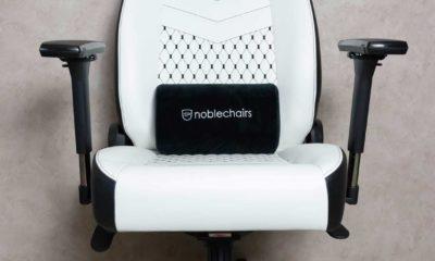 Test fauteuil Noblechairs ICON blanc noir