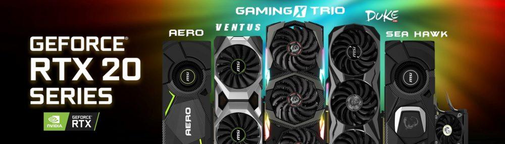 MSI Nvidia RTX