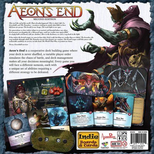 Aeon's End boite dos