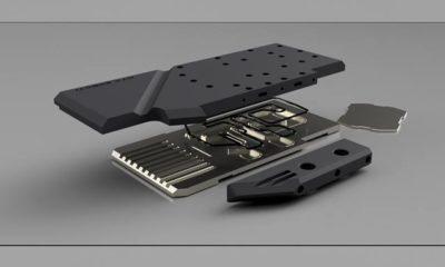 Waterblock GPU RTX 2080 Hybrid Cooling Modding