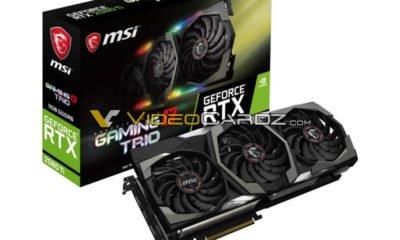 Carte graphique Nvidia RTX 2080 Ti GAMING X TRIO