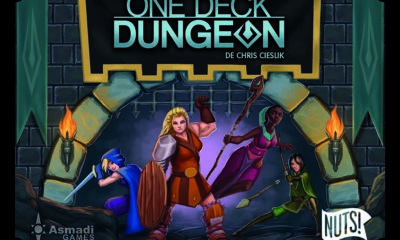 One Deck Dungeon boite