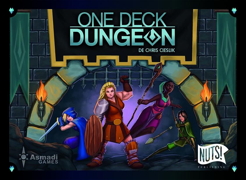 One Deck Dungeon boite