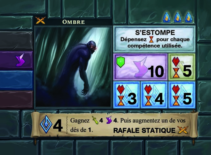One Deck Dungeon ombre