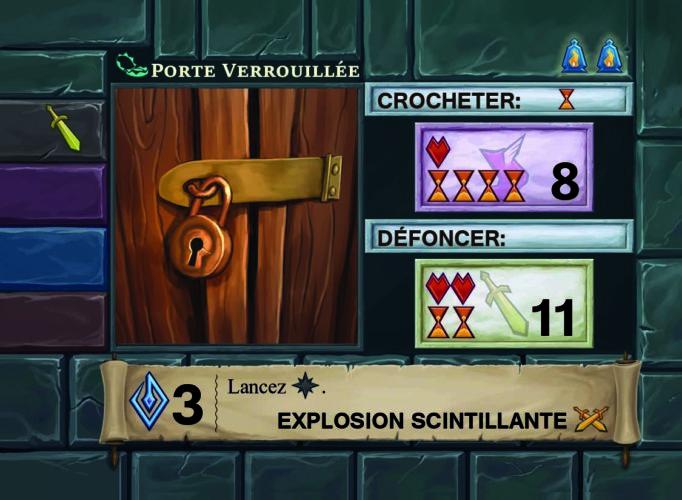 One Deck Dungeon piège
